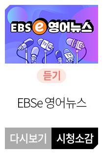 EBSe 영어뉴스